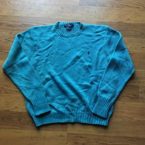 Teal green polo Ralph Lauren Sweater